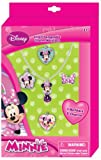 Disney Minnie Mouse Interchangeable Charm Necklace Jewelry Gift Set with ADORABLE Necklace and 5 Charms