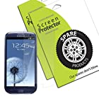 Spare Products Screen Protector Film for Samsung Galaxy S III S3 i9300 (AT&T, T-Mobile, Sprint, Verizon) - (1 Pack) Anti-Glare