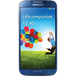 Samsung I9505 Galaxy S4 LTE-A Quad-core 2.3G Smartphone Sim Free Factory Unlocked European Version Mobile Phone (16GB INTERNAL MEMORY, BLUE)