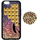 wildflower ( ワイルドフラワー ) セレブリティ スタッズ iphone6 ケース Free Spirit Gold Pyramid Case iPhone6ケース フリースピリット ピラミッド ファブリック カバー ステッカー セット 海外 ブランド