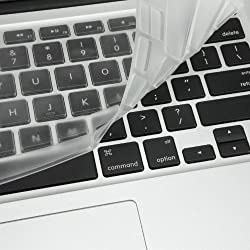 Mosiso Ultra Thin Clear TPU Keyboard Cover Silicone Skin for MacBook Air 11.6
