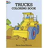 Trucks Coloring Book (Dover Design Coloring Books) (0486284476) by Steven James Petruccio