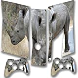 """Wild Animals"" 10003, Snuggle Edition, Sticker for XBOX 360 Slim Game Console."