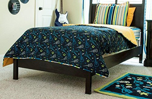 Pam Grace Creations Bedding Set, Rockstar, Queen
