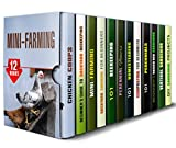 img - for Mini-Farming Box Set (12 in 1): Learn to Grow, Care, and Harvest Food for a Better Life (Homesteading & Backyard Farming) book / textbook / text book