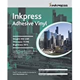 Inkpress AV851120 Specialty Media Adhesive Vinyl 15 Mil 8.5in. X 11in. 20S