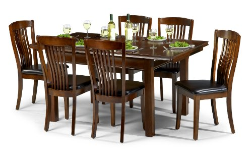 julian-bowen-canterbury-extending-dining-table-set-with-6-chairs-mahogany