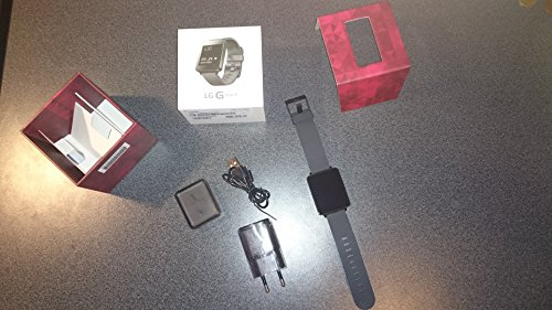 LG G Watch Powered by Android Wear - Black Titan