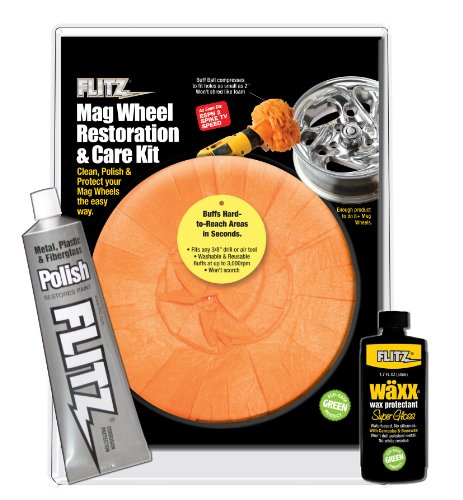 Flitz MW 51502 Mixed Mag Wheel Restoration Kit