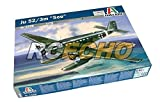 RCECHO® ITALERI Aircraft Model 1/72 Ju 52/3m See Scale Hobby 1339 T1339 with RCECHO® Full Version Apps Edition