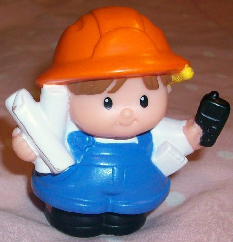 Buy Low Price Mattel Fisher Price Little People Eddie Worker Replacement Figure Doll Toy (B00221XS2W)