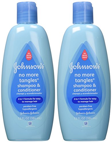 Johnson's Baby No More Tangles Shampoo & Conditioner,13 ounce (Pack of 2)