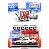 "M2 MACHINES 1:64SCALE ""AUTO-WHEELS"" ""1970 FORD TORINO COBRA""(WHITE) M2マシンズ 1:64スケール 「オート・ホイールズ」 「1970 フォード トリノ コブラ」(ホワイト) [並行輸入品]"