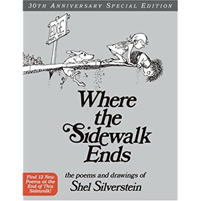 Shel Silverstein Invitation Solace In A Book