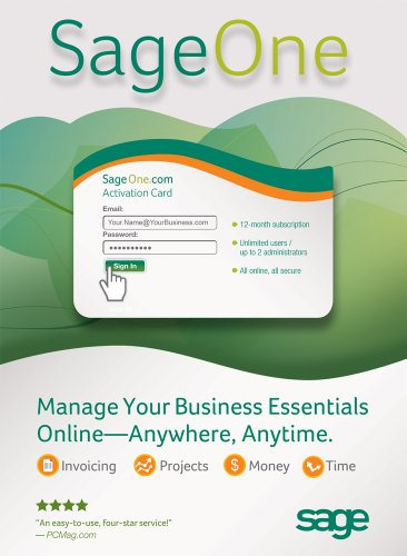 Sage One Online Accounting & Invoicing Software