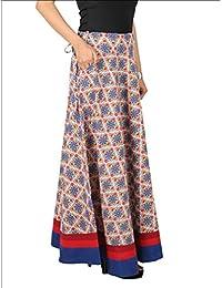 Dconcept Women Beige & Blue Skirt