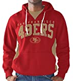 San Francisco 49ers Play Action Pullover Fleece Hooded Sweatshirt Large