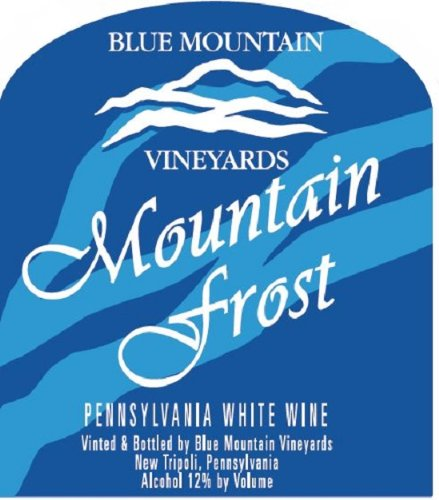 Nv Blue Mountain Frost White Blend 750 Ml