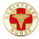 Registered Nurse RN Medical Lapel Pin