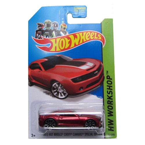 2013 Chevy Camaro Special Edition '14 Hot Wheels 202/250 (Red) Vehicle - 1