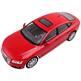 Mitashi Dash  1:12  Rechargeable R/C Audi A7, Red