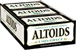Altoids Curiously Strong Mints, Liquorice, 1.76-Ounce Tins (Pack of 12)