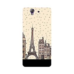 Phone Candy Designer Back Cover with direct 3D sublimation printing for Sony Xperia Z