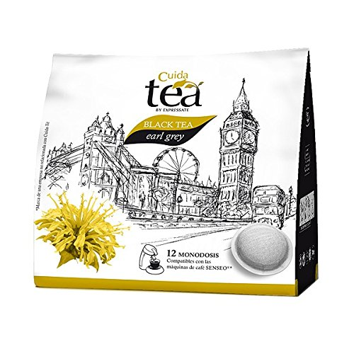 Shop for SENSEO Black TEA Earl Grey pods - 12 pods x 6 = TOTAL: 72 pods by Cuida Té