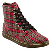 Dr.Martens Hackney Red Womens Boots