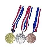 メダル セット (金 銀 銅 各一個・1セット入り)  / お楽しみグッズ(紙風船)付きセット