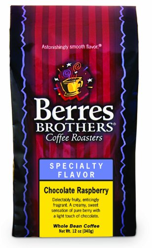 Berres Brothers Chocolate Raspberry Whole Bean Coffee 12 Oz.