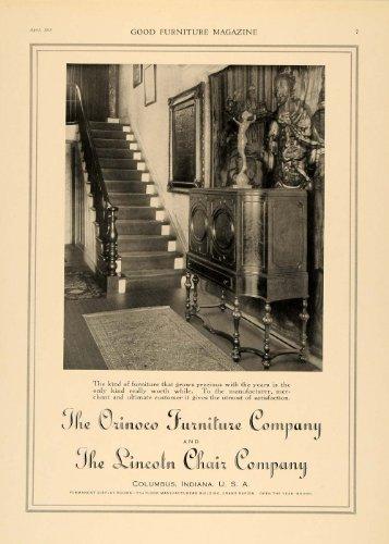 1918-ad-orinoco-furniture-lincoln-chair-company-cabinet-original-print-ad