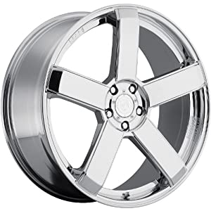 Dropstars 644C 20 Chrome Wheel / Rim 5×115 & 5×120 with a 20mm Offset and a 74.1 Hub Bore. Partnumber 644C-2855520