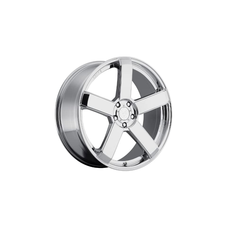 Dropstars 644C 24 Chrome Wheel / Rim 5x4.5 & 5x4.75 with a 20mm Offset and a 83.82 Hub Bore. Partnumber 644C 2490420
