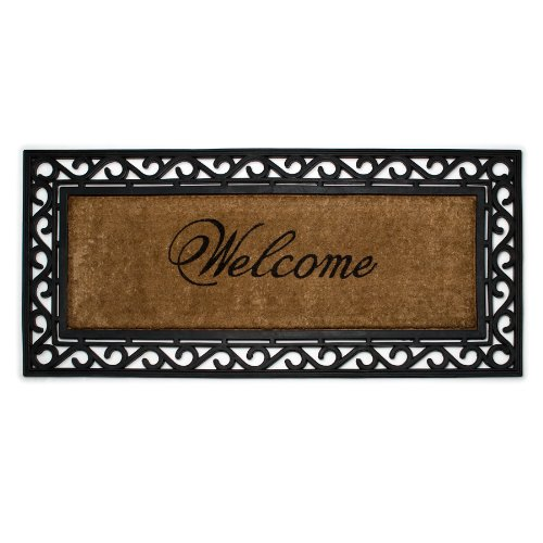 @^#leighmg^$ Abbott Coir and Rubber Welcome Door Mat ...