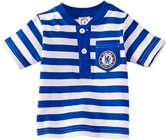 Brecrest Babywear Chelsea FC CH178 Boy's T-Shirt Reflex Blue/White 6-9 Months