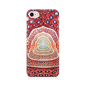 Mobicture Psychedelic Faces on the wall Premium Printed Mobile Back Case Cover For Apple iPhone 7