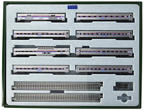 spur-n-kato-personenwagenset-amtrak-southwest-limited