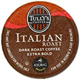 Tully's Italian Roast K-Cup packs for Keurig Brewers (Pack of 50)