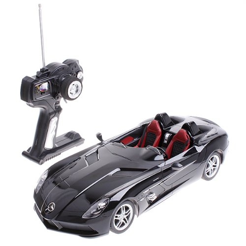Black Rastar 1:14 Mercedes-Benz SLR McLaren Z199 Car Model Remote Control