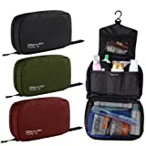 Naturehike Travel kits Wash Bag Large Capacity Male Womens Waterproof Camping Outdoor bags (Black)