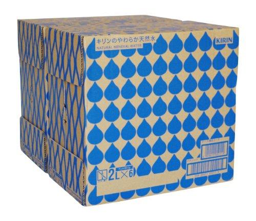 【Amazon.co.jp限定】[2CS] キリンのやわらか天然水 (2L×6本)×2箱