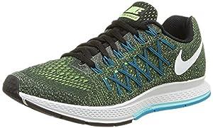 Nike Air Zoom Pegasus 32, Damen Laufschuhe, Grün (Ghost Green/White-Black), 36.5 EU