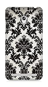 Amez designer printed 3d premium high quality back case cover for Asus Zenfone 6 (Pattern 12)