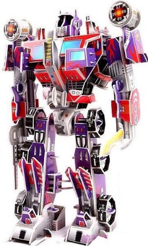 3D DIY TOY Jigsaw Puzzle enriches the child's imagination kids like it. Best Sellers New Releases Preschool Toys Boys' Girls' Toys Games & Puzzles Hobby--Transformers Optimus Prime Bumblebee Devastator Starscream Ravage (Optimus Prime)