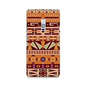 Ebby Tribal Pizza Premium Printed Case For OnePlus Two