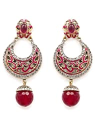 Akshim Multicolour Alloy Earrings For Women - B00NPY9CV6