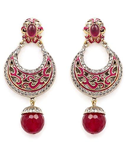 Akshim Multicolour Alloy Earrings For Women - B00NPY9CV6