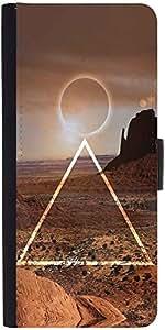 Snoogg Eclipse Zoyddesigner Protective Flip Case Cover For Samsung Galaxy E5