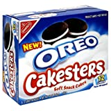 Oreo Original Cakesters Soft Snack Cakes, 6-2 Cake Packages (Pack of 12)